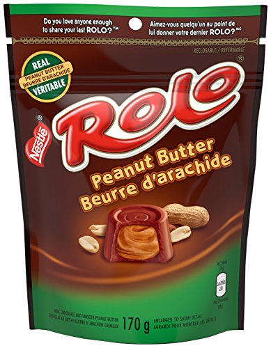 ROLO Peanut Butter, 170g Reclosable Pack