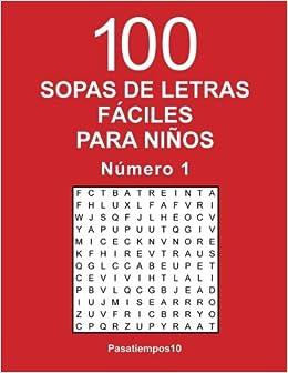 sopas de letras fciles para nios n volume spanish edition pasatiempos amazoncom books