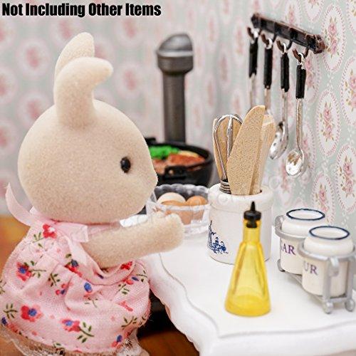 Amazon.es: Odoria 1/12 Miniatura Utensilios de Cocina y Batidora de Huevos con Utensil Jar Cocina Accesorio para Casa de Muñecas: Juguetes y juegos
