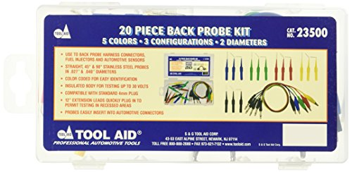 Electrical Tool Accessories (Tool Aid SG 23500 Back Probe Kit)
