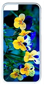 The Beautiful Flower As A Symbol of Youth and Vitality Customized Hard Shell White iphone 6 plus Case By Custom Service Your Perfect Choice