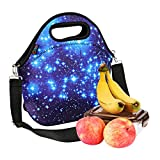 Best ICOLOR Kid Lunches - iColor Neoprene Lunch Bag, insulated lunch box Review