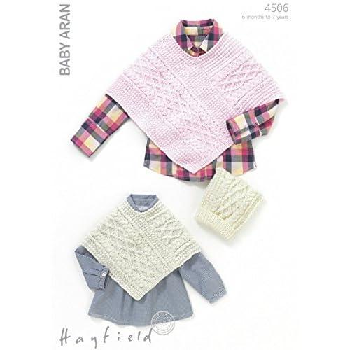 Poncho Knitting Patterns Amazon