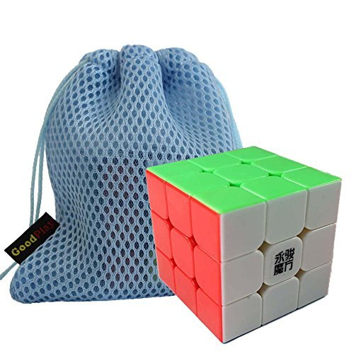 Racing Cut Outs (GoodPlay YongJun YJ Yulong 3x3x3 Speed Cube Stickerless 3D Intelligence Smooth Magic Cube Brain Teaser Puzzle Cube Toys For Children Adults+ One Cube Bag)