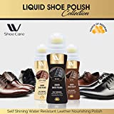W Shoe Care Color Shine Liquid Polish Black,Shoe