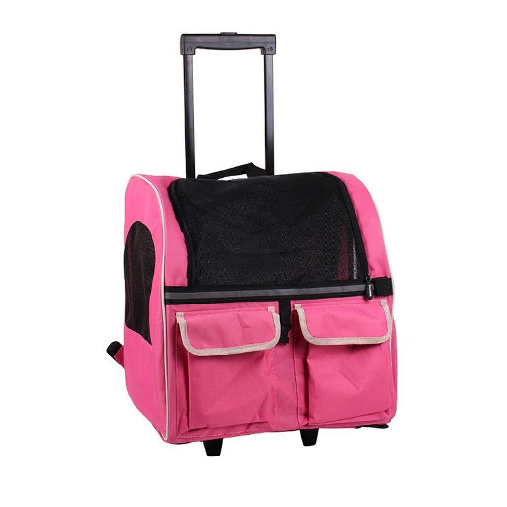 Xinnegen Borsa Portatile Portatile Portatile per Animali Domestici, Borsa da Viaggio per Cani e Gatti, colore  rosa 27005c