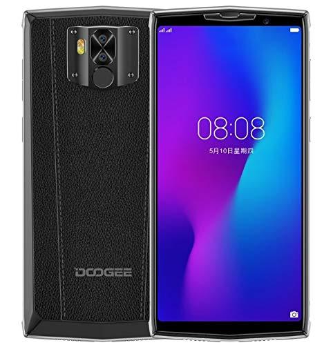 DOOGEE N100 10000mAh Akku Smartphone ohne Vertrag, drahtlose Aufladung unterstützt, 5,99 Zoll FHD + Handy Android 9.0…