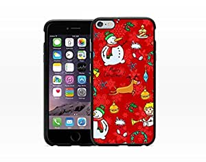 Christmas Pattern - Hard Plastic Case for Iphone 6 [Wireless Phone Accessory]