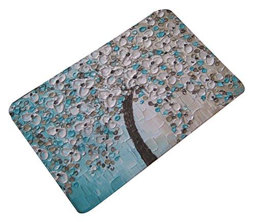 Multi-size Oil Painting Floral Area Door Mat Floor Rug Runner Flannel AntislipLivebyCare Doormat Entry Carpet Decor Front Entrance Indoor Outdoor Matsfor Decor Decorative Drawing Room (Outdoor Runner Carpet)