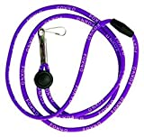 Fox 40 Break Away Neck Lanyard, Purple
