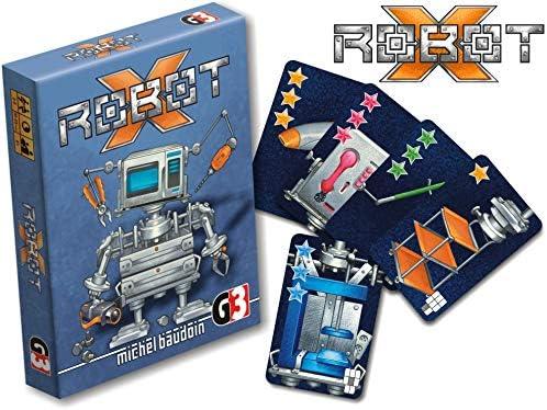 G3 Juego 105707 alemán/Inglés/Polaco Robot X – Juego de Cartas: Amazon.es: Juguetes y juegos