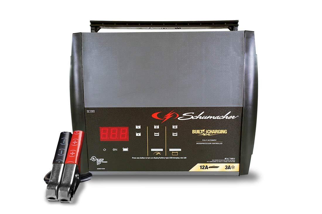 Schumacher SC1357 6A 6V//12V Fully Automatic Battery Charger