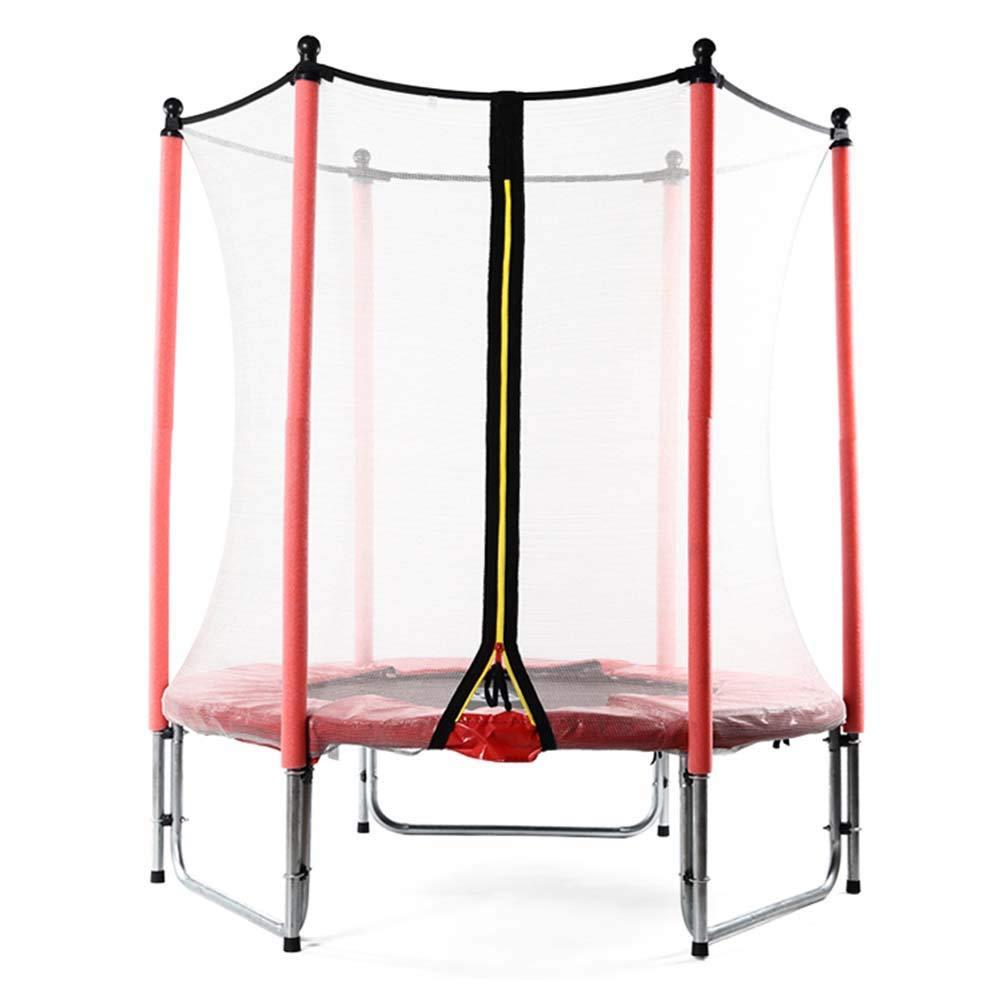 Trampoline 55 Zoll mit Sicherheit Pad Übung Fitnessgeräte Indoor Garden Workout Cardio Training für Kinder Erwachsene