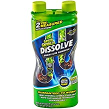 Green Gobbler DISSOLVE Liquid Hair & Grease Clog Remover / Drain Opener /Drain cleaner/ Toilet Clog Remover (32 OZ.)