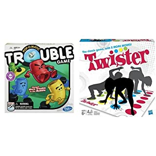 Trouble Game and Twister Game Bundle