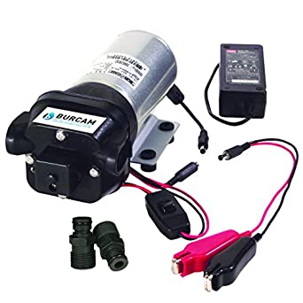 Burcam 300209dp 12v 120v Water Transfer Utility Pump Plumbing Equipment Amazon Com Industrial Scientific