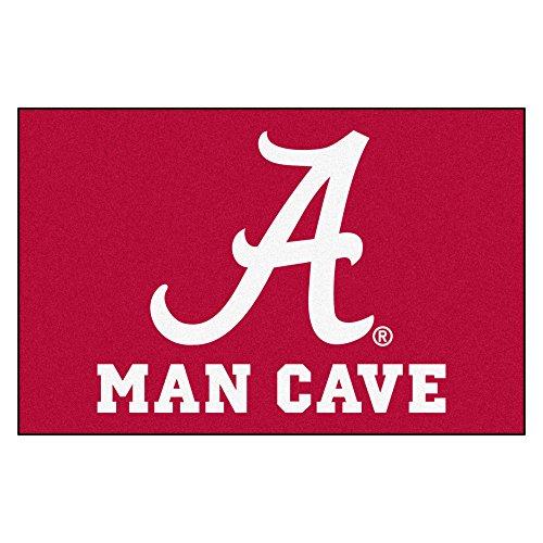 - Fanmats 14524 University of Alabama Nylon Universal Man Cave Starter Rug