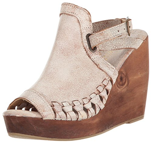 Wooden Wedge Wrap - Very Volatile Women's Carry Wedge Sandal White 9 B US