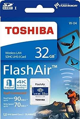 Toshiba FlashAir W-04 - Tarjeta de Memoria SDHC (32 GB ...