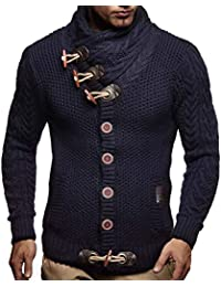 9c7befd26 Men s Knitted Jacket Turtleneck Cardigan Winter Pullover Hoodies Casual Sweaters  Jumper LN4195