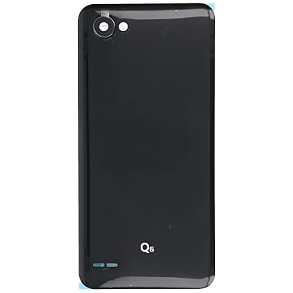 best service 986d4 ea4f1 MozoMart LG Q6 Battery Door Back Panel Body - Color: Amazon.in ...