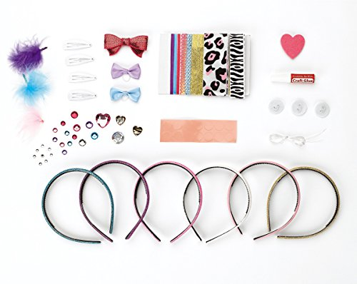 Make Fashionable Hair Acce... Spielzeug Sonstige Creativity For Kids Sparkling Hair Accessory Set