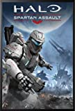 Best GENERIC Gaming Posters - Framed Halo - Spartan Assault 22x34 Black Wood Review
