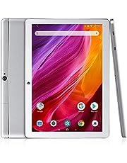 Dragon Touch K10 Tablet 10.1 Pulgadas 1280x800 HD IPS Tablet Android 8.1 con WiFi Bluetooth Procesador Quad-Core RAM de 2GB 16GB de Memoria Interna Doble Cámara Plateado