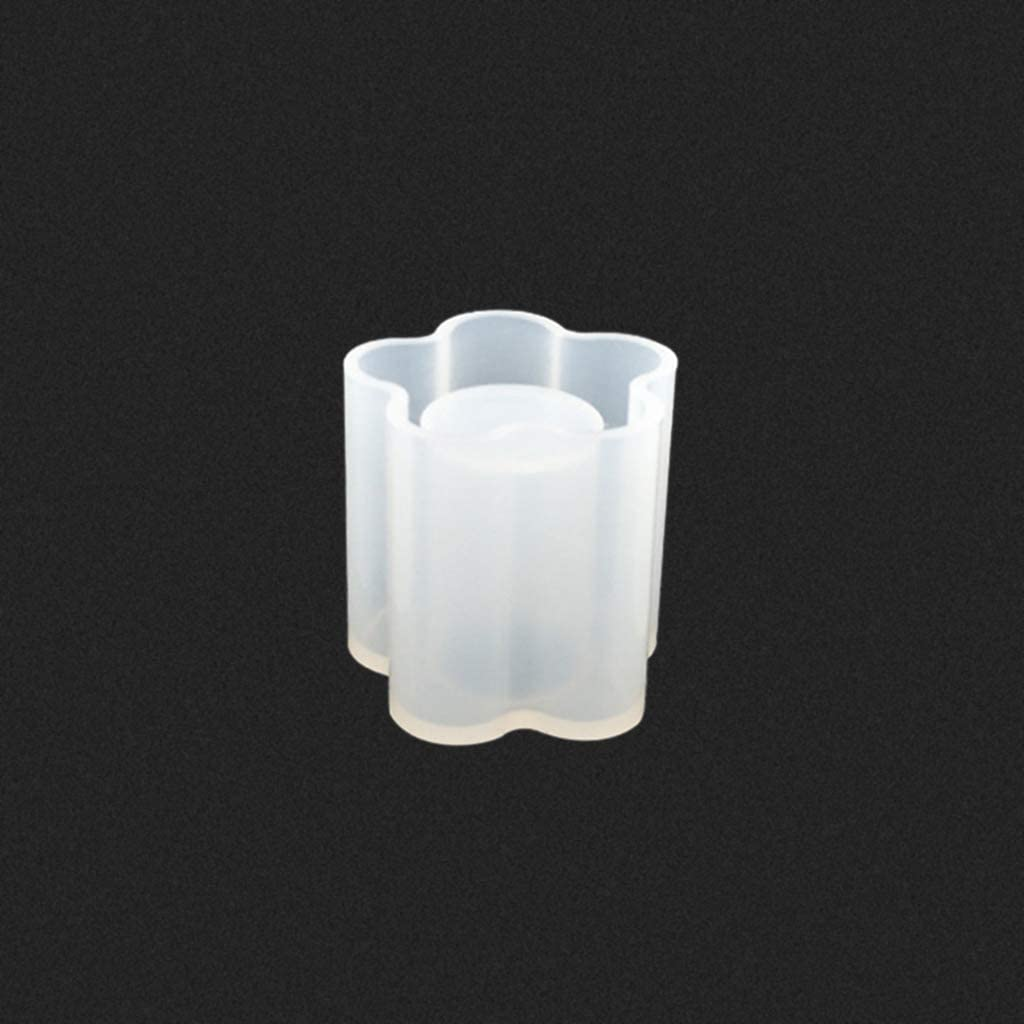 1 Fxikun Silicone Moule R/ésine Conception de Porte Stylo pour lartisanat de Bricolage