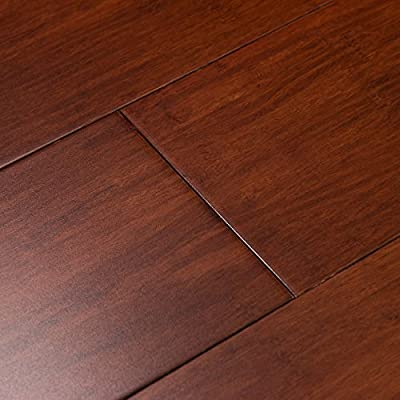 Cali Bamboo - Solid Wide Click Bamboo Flooring, Cognac Red - Sample