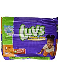 Luvs with Ultra Leakguards, Size 3 Diapers, 34 ea BOBEBE Online Baby Store From New York to Miami and Los Angeles