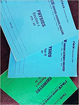 Amazon in: Buy IITIANS Pace HSC notes for grade 12 - Physics