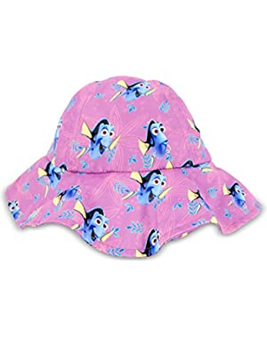 Baby Girls Finding Dory Microfiber Sun Hat, Age 12-24M