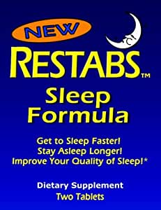 RESTABS Sleep Formula Two-Tablet Travel Packet