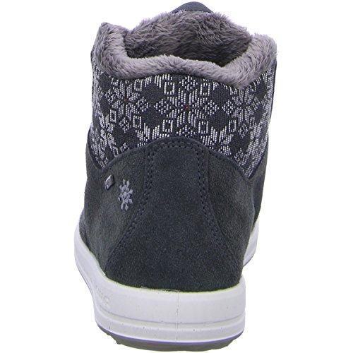 Lowa Mosca Gtx Qc Ws, Zapatillas Altas para Mujer Gris (Graphit/silber_graphite/silver)