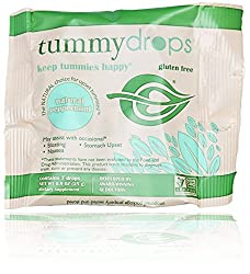 Tummydrops 7 Count Convenience Bags (4 Bags of Natural Ginger)