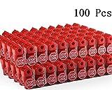 Cedmon Anti Sweep Theft Stop Lock 100Pcs 6mm Red