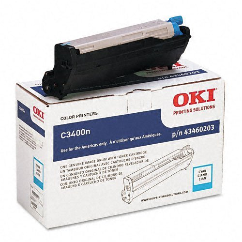 Oki : 43460203 Drum Unit, Cyan -:- Sold as 2 Packs of - 1 - / - Total of 2 Each