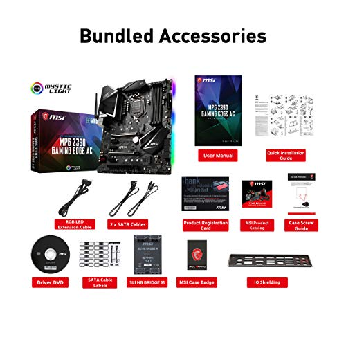 Build My PC, PC Builder, MSI MPG Z390 Gaming Edge AC