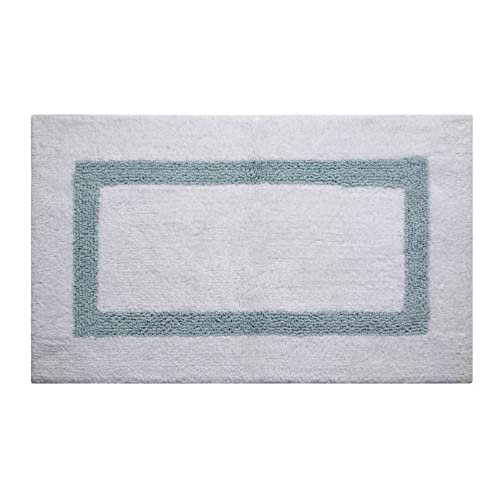 Reversible Cotton Bath Rug: Amazon.com
