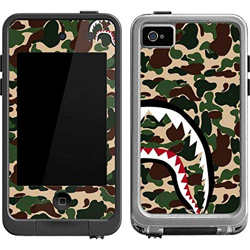 Skinit Shark Teeth Street Camo LifeProof fre iPod Touch 4th Gen Skin for CASE - Originally Designed Skin for Popular Cases Decal - Ultra Thin, Lightweight Vinyl Decal - Camo 4 Ipod Case Lifeproof