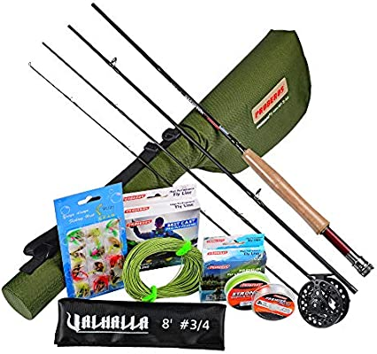 PROBEROS Fly Fishing Rod and Reel Combos Fly Fishing Full