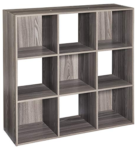 ClosetMaid 4167 Cubeicals Organizer, 9-Cube, Natural Gray (Renewed) (9 Closet Cube Maid)