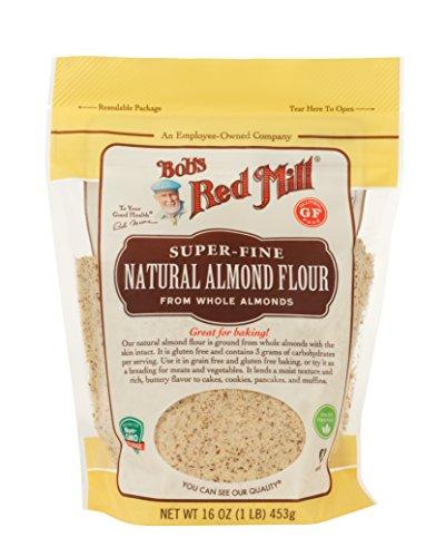 Bob's Red Mill Super-Fine Natural Almond Flour, 16 Ounce (Best Almond Flour For Macarons)