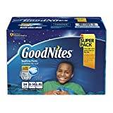 Goodnites Underwear for Boys, Large/Extra Large, Giga Pack, 34-Count