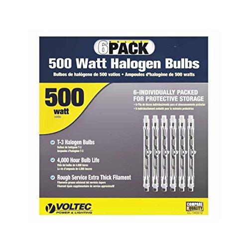Voltec 500 W Replacement Halogen Bulb (500w Halogen Bulb)