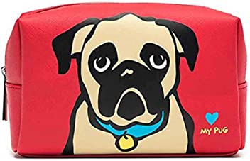 Marc Tetro Pug Cosmetic Case
