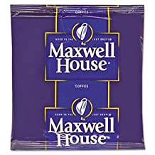 Maxwell House Coffee Filter Packs MWH395640 by Maxwell House