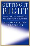 Getting It Right, Viva Bartkus and Ed Conlon, 0470245883