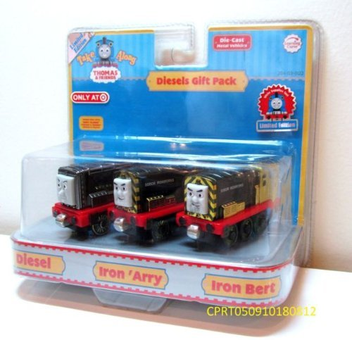 Thomas & Friends Take Along Diesels Gift Pack (Diesel, Iron 'Arry, Iron Bert) (Thomas And Friends Iron Arry And Bert)